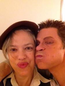 Kathleen with Simon Keenleyside, Wiener Staatsoper 2013